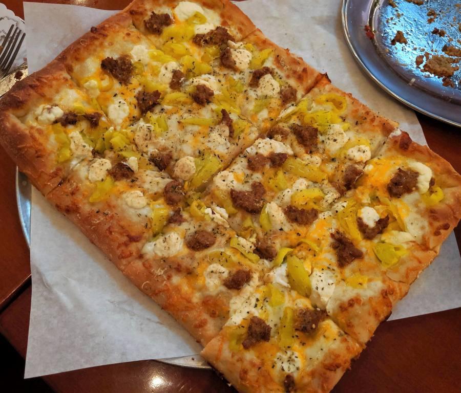 Naked City Pizza at The El Cortez, Las Vegas NV   Endo Edibles