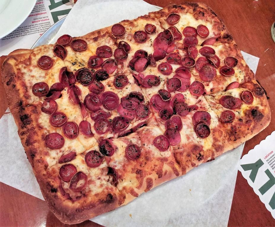 Naked City Pizza at The El Cortez [2,] Las Vegas NV   Endo